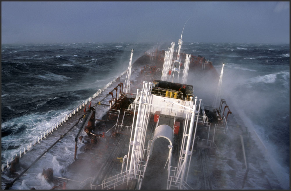 Alfa Img  Showing Gt Ships In Rough Weather