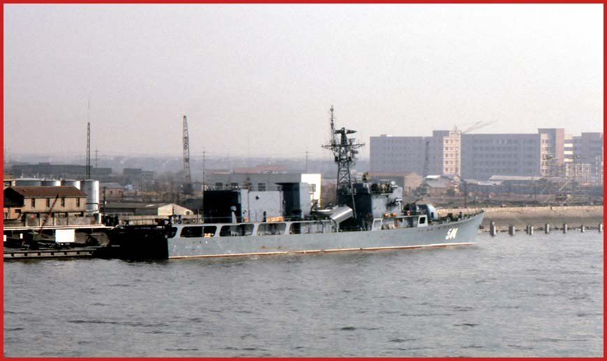Siping China  City pictures : siping 544 jianghu iv class type 053ht h missile frigate china ...